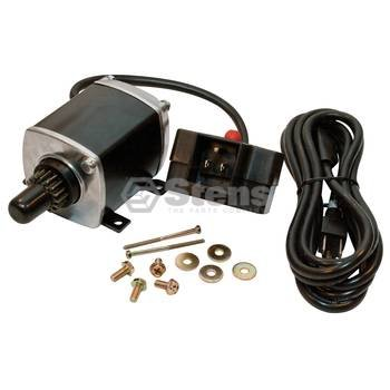 Stens 435-611 Electric Starter Kit, Includes starter, starter button, power cord and hardware, 120V, 16 Teeth