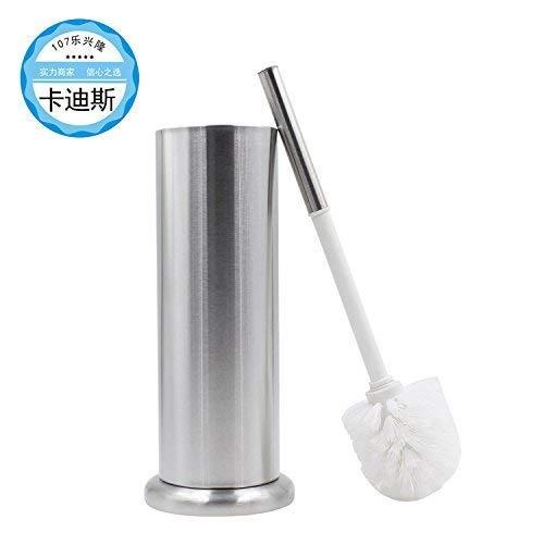 (Modern Design Toilet Scrubber Set Stainless Steel Copper Ceramics Toilet Brush Holder Wall Mounted for Bathroom Storage Modern Contemporary Style Toilet Brushes Toilet Brushes Holders Strong Sturdy)