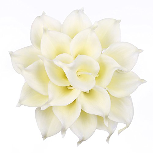 Calla Lilies Silk Flowers - 4
