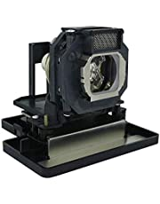 CTLAMP Replacement ET-LAE4000 Projector Lamp Bulb with Housing Compatible with PANASONIC PT-AE4000 PT-AE4000U PT-AE4000E ETLAE4000