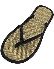 Briskorry Badslippers voor dames, platte sandalen, espadrilles, lichtgewicht, ademend, slippers, teenschoenen