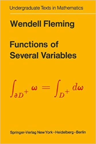 Functions of Several Variables (Undergraduate Texts in Mathematics ...