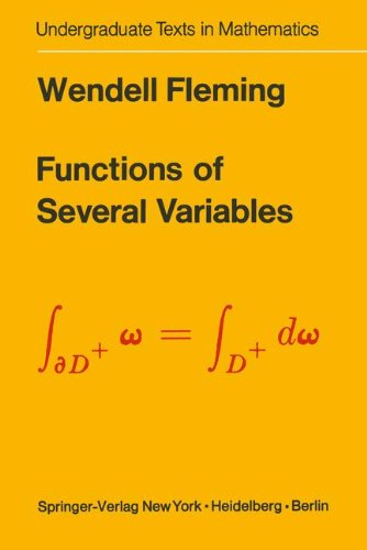 Functions of Several Variables (Undergraduate Texts in Mathematics)