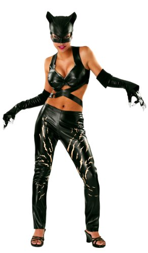 Rubies DC Comics Deluxe Catwoman Costume - Small]()