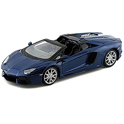 Maisto Lamborghini Aventador LP 700-4 Roadster Die Cast Vehicle (1:24 Scale), Colors May Vary: Toys & Games