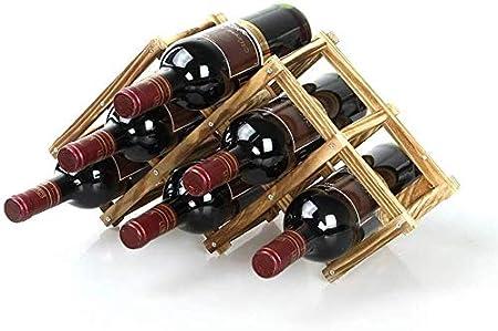 El diseño funcional, pero estéticamente agradable es perfecta para mantener sus botellas favoritas e