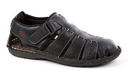 Joma S_oports_701 Sandaler S.oporto 701 Svart Sko Våren Sommeren Flip Flops Svart Skinn