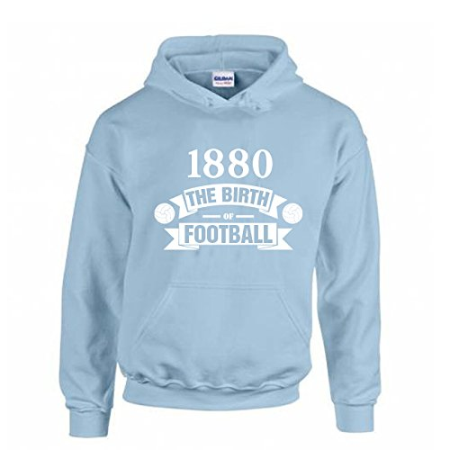 規則性素子起きてMan City Birth Of Football Hoody (sky Blue) - Kids