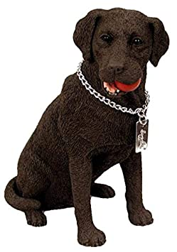Labrador Retriever Chocolate My Dog Figurine