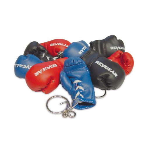 [Revgear Boxing Glove Keychain (Pink)] (Womens Boxing Costumes)