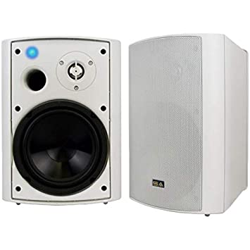 Wireless Outdoor Speakers Bluetooth 650quot Indoor Weatherproof Patio SpeakersWhite