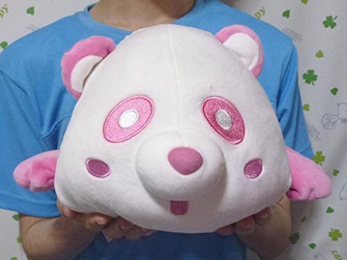 AAA★BIG! 大きな えパンダ ぬいぐるみ / もちもち / 末吉秀太 / ピンク / 寝そべり スタイル / 可愛い♪