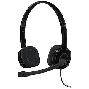 Logitech Stereo Headset H151, Black