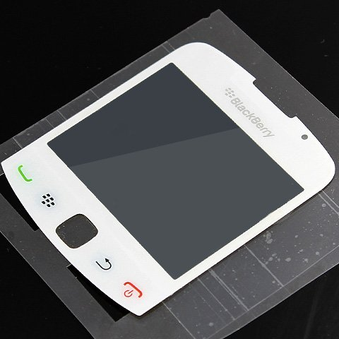Original OEM Genuine Lens LCD Screen Cover For BlackBerry Curve 3G 9300 9330 [White]