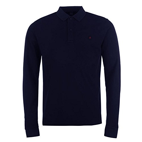 Replay Herren Poloshirt blau navy