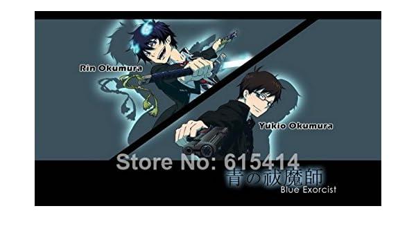 Poster Ao No Blue Exorcist  Japan Anime Room Wall Cloth Print 08