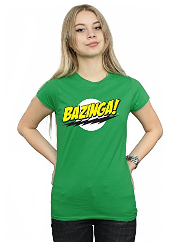 Absolute Vert Bazinga Irlandais Femme Cult Bang The Big Theory T Sheldon shirt SwSH4rq