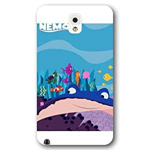Customized White Frosted Disney Finding Nemo Samsung Galaxy Note 3 Case