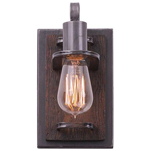 Lofty 1-Light Vanity - Steel - Wall Lighting Varaluz