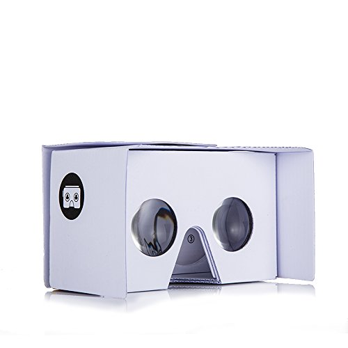 v2.0 I AM CARDBOARD® VR CARDBOARD KIT - Inspired by Google Cardboard v2 (White)