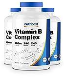 Nutricost High Potency Vitamin B Complex 460mg, 240