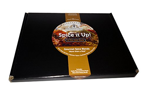 Two Snooty Chefs Spice It Up, 4 Tin Gift Pack