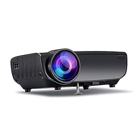 ZJH Proyector de WiFi LED, proyector de Cine en casa de HD 2200 ...