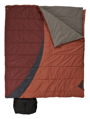 Kelty Eclipse 30-Degree Double Wide Sleeping Bag, Outdoor Stuffs