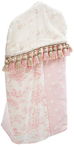 Glenna Jean Isabella Diaper Stacker, Pink/Green/Cream