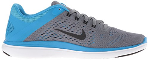 Cool WMNS Grey Women's Glow blue Training 2016 Rn white Black Flex Nike SYTAOWnO