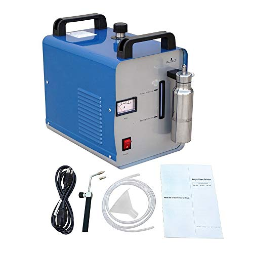Uttiny Glass Acrylic Polisher, Buffer With 75L/H Oxygen Hydrogen Generator Environmental Friendly 110V 0.08-0.13MPa Water Welder For Polishing Glasses, Acrylic Craft And Other nonferrous Welding Metal