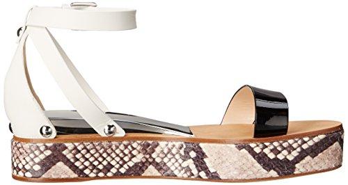 Casadei Kvinna 1lb10d050 Flatform Sandal Vit