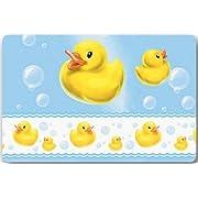 yellow rubber duck Large Doormat Neoprene Backing Non Slip Outdoor Indoor Bathroom Kitchen Decor Rug Mat Welcome Doormat