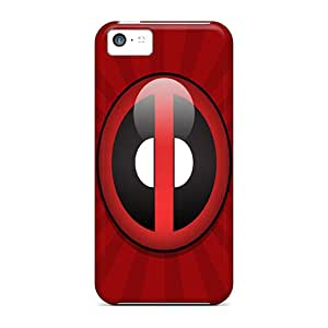 Flexible Tpu Back Case Cover For Iphone 5c - Deadpool