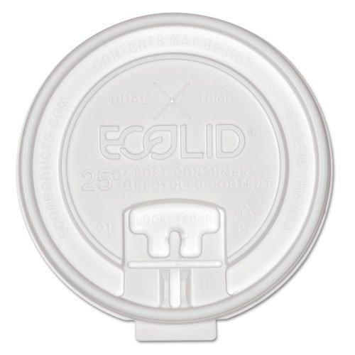 ECOEPHCLDTRCT - Eco-Lid 25% Recycled Content Hot Cup Lid
