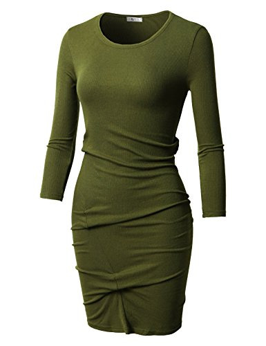 olive and gold dress - 9