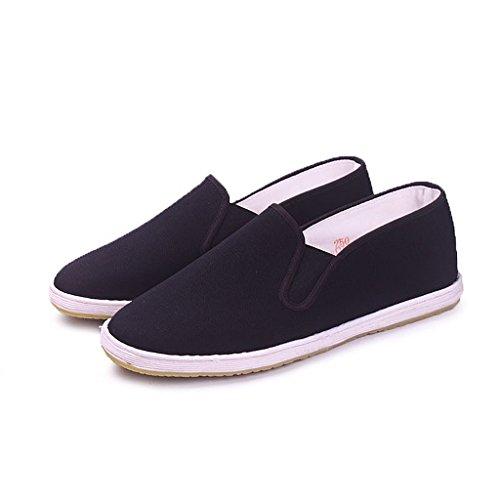 Del Negro Kung De Viejos Ocio Los Fu Hombres Zapatos X16SnOzqX