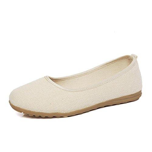 ayli s casual simple comfort walking flats slip on