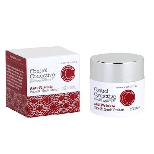 Control Corrective Anti-Wrinkle Face and Neck Cream, 2 Ounce Mainspring America Inc. DBA Direct Cosmetics 815651010236