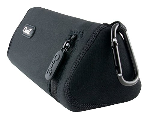 Cambridge SoundWorks Official Bluetooth Speaker Carry Case for the OontZ Angle 3 Plus and the OontZ Angle 3 ULTRA, Neoprene with Aluminum Carabiner, reinforced zipper [NOT FOR OontZ Angle 3]
