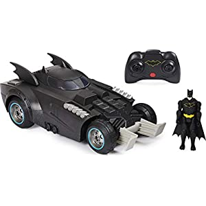 Best Epic Trends 41Kc3cB-CkL._SS300_ BATMAN Launch and Defend Batmobile Remote Control Vehicle with Exclusive 4-inch Action Figure