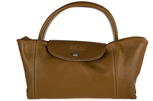 Borsa Lunga Da Donna In Pelle Marrone