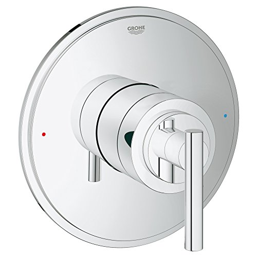 Grohflex Timeless Single Function Pressure Balance Trim With Control Module ()