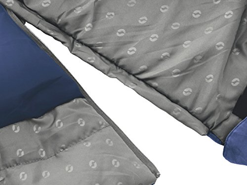 Outwell Contour Lux Adult Sleeping Bag with Double Blue - 225 x 150 x 60 CM, 230090 by Outwell by Outwell (Image #3)