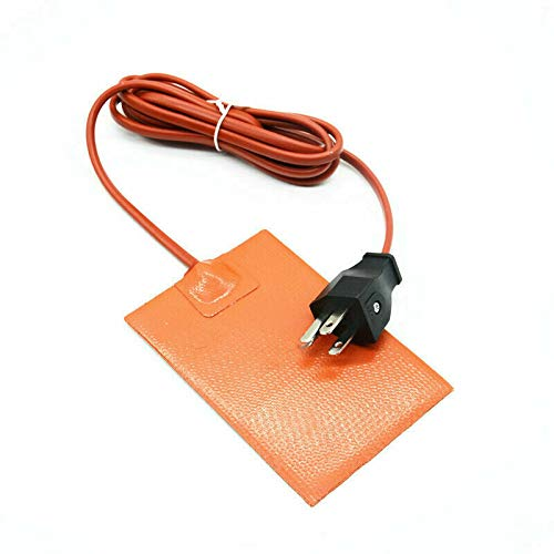 Details About Orange Auto Block Engine Heater Pad Oil Pan Heating Plate Water Hydraulic Tank
