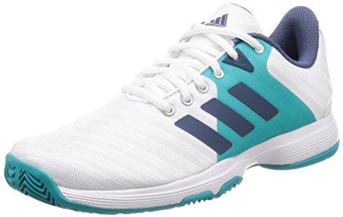 W Tennis Blanc blanco Adidas Chaussures Barricade Femme 000 De Court qZ07E0X