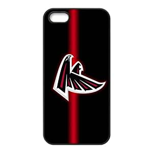 Custom Atlanta Falcons Back Cover Case for iphone 5,5S JN5S-1677 by lolosakes