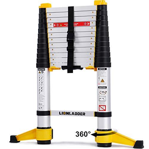 Lionladder 12.5FT EN131-6 Telescoping Ladder