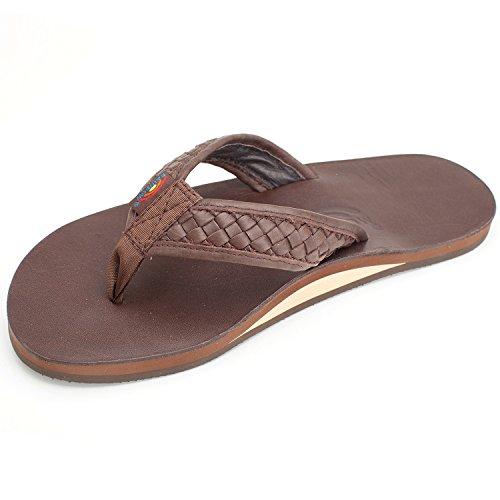 Rainbow Sandals Men's Bentley Sandals Classic Mocha Size Medium (8.5-9.5) Mens Rainbow Sandals