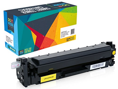 Do It Wiser Compatible High Yield Toner Cartridge for HP 410X Color Laserjet M452NW M452DW M452DN MFP M477FDN M477FDW M477FNW M377 4-Pack Photo #3